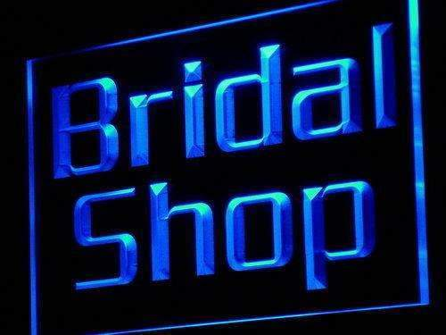 Bridal Shop Neon Sign (LED)-Way Up Gifts