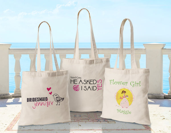 Personalized Brides Perfect Tote - Way Up Gifts