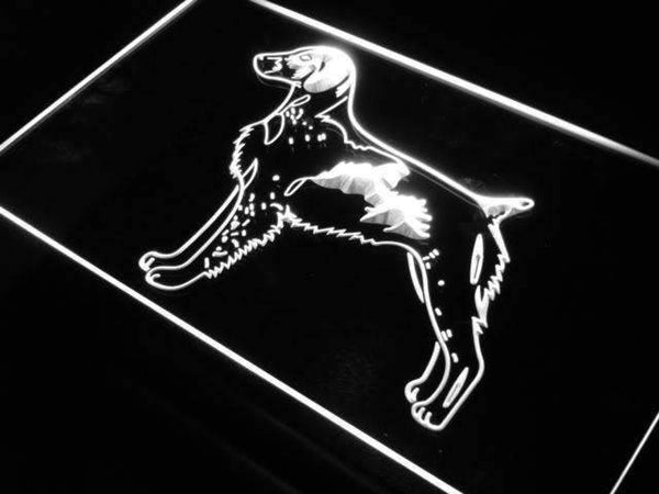 Brittany Spaniel Dog Pet Neon Sign (LED)-Way Up Gifts