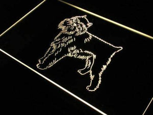 Brussels Griffon Dog Neon Sign (LED)-Way Up Gifts