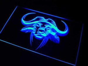 Bull Animal Neon Sign (LED)-Way Up Gifts