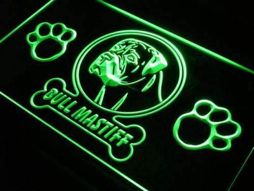 Bull Mastiff LED Neon Light Sign - Way Up Gifts