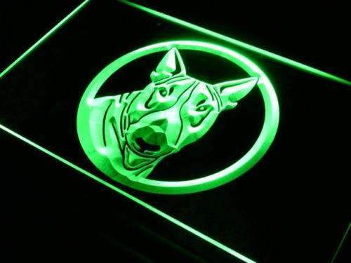 Bull Terrier Dog LED Neon Light Sign - Way Up Gifts