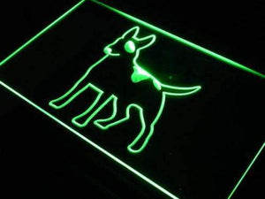 Bull Terrier Neon Sign (LED)-Way Up Gifts