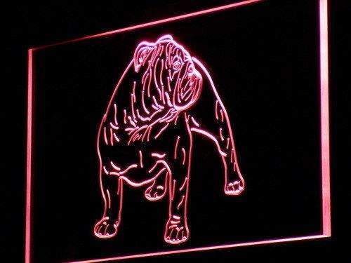 Bulldog Pet LED Neon Light Sign - Way Up Gifts