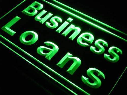 Business Loans Neon Sign (LED)-Way Up Gifts