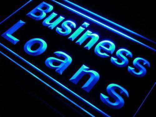 Business Loans Neon Sign (LED)