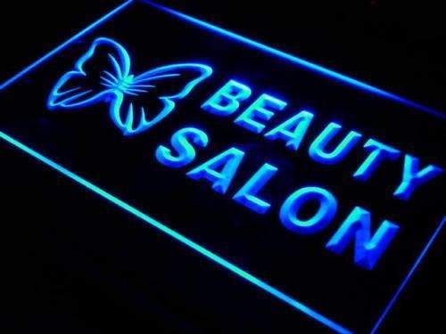 Butterfly Beauty Salon LED Neon Light Sign - Way Up Gifts