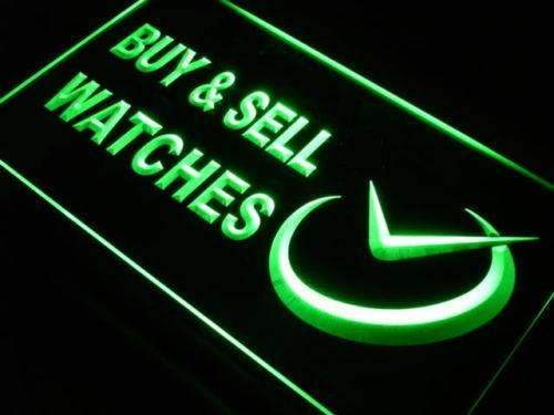 Buy and Sell Watches LED Neon Light Sign - Way Up Gifts