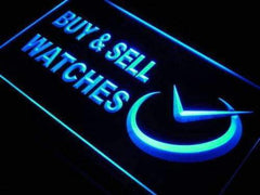 Buy and Sell Watches LED Neon Light Sign