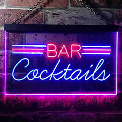 Bar Cocktails LED Neon Light Sign