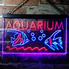 Fish Aquarium LED Neon Light Sign
