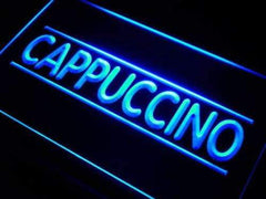Cafe Cappuccino LED Neon Light Sign