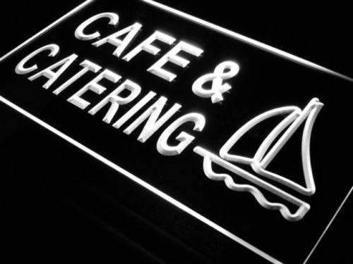 Cafe Catering Neon Sign (LED)-Way Up Gifts