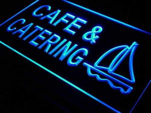 Cafe Catering LED Neon Light Sign - Way Up Gifts
