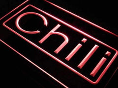 Cafe Chili LED Neon Light Sign