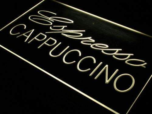 Cafe Espresso Cappuccino LED Neon Light Sign  Business > LED Signs > Uncategorized Neon Signs - Way Up Gifts