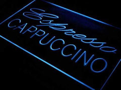 Cafe Espresso Cappuccino LED Neon Light Sign