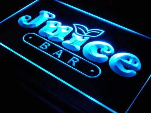 Cafe Juice Bar LED Neon Light Sign - Way Up Gifts