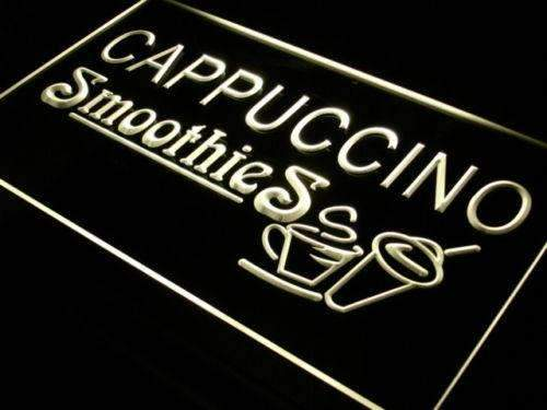 Cappuccino Smoothies Neon Sign (LED)-Way Up Gifts