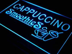 Cappuccino Smoothies LED Neon Light Sign