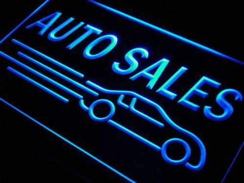 Car Auto Sales LED Neon Light Sign - Way Up Gifts