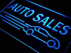 Car Auto Sales LED Neon Light Sign