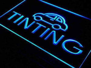 Car Window Tinting Neon Sign (LED)-Way Up Gifts