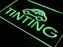 Car Window Tinting LED Neon Light Sign