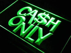 Cash Only LED Neon Light Sign