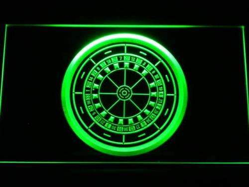 Casino Roulette LED Neon Light Sign - Way Up Gifts