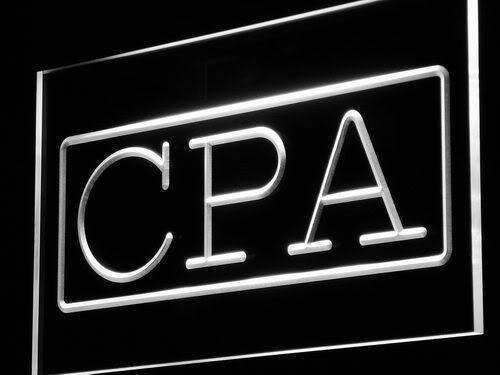 Certified Public Accountant CPA LED Neon Light Sign - Way Up Gifts