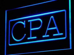 Certified Public Accountant CPA LED Neon Light Sign