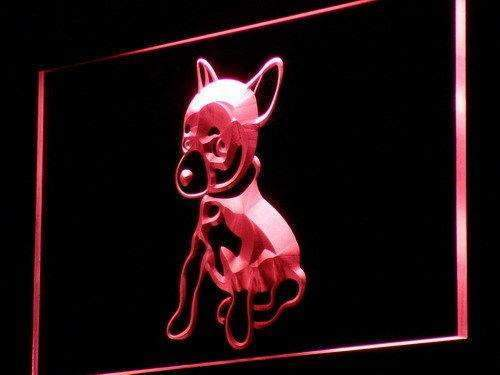 Chihuahua Puppy Neon Sign (LED)-Way Up Gifts