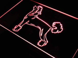 Chinese Crested Dog Neon Sign (LED)-Way Up Gifts