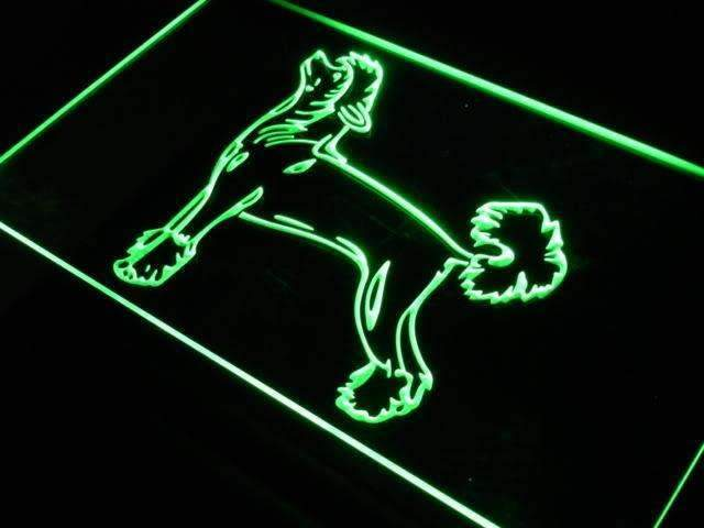 Chinese Crested Dog LED Neon Light Sign - Way Up Gifts