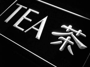 Chinese Tea Neon Sign (LED)-Way Up Gifts