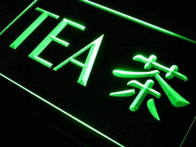 Chinese Tea Neon Sign (LED)