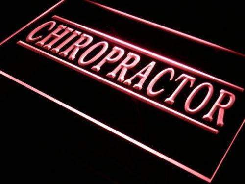 Chiropractor LED Neon Light Sign - Way Up Gifts