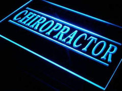 Chiropractor LED Neon Light Sign