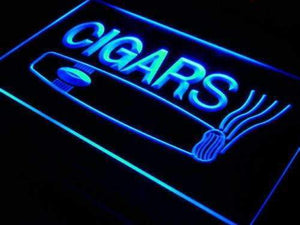 Cigar Shop Neon Sign (LED)-Way Up Gifts