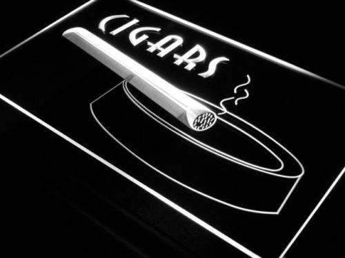 Cigars II LED Neon Light Sign - Way Up Gifts