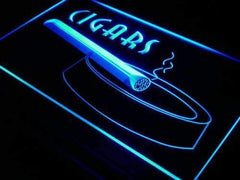 Cigars II LED Neon Light Sign