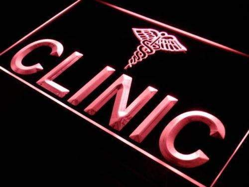 Clinic Hospital Display Neon Sign (LED)-Way Up Gifts