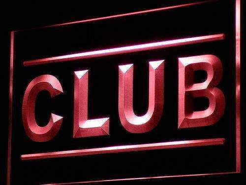 Club LED Neon Light Sign - Way Up Gifts