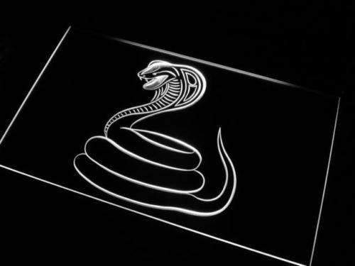 Cobra Snake Neon Sign (LED)-Way Up Gifts