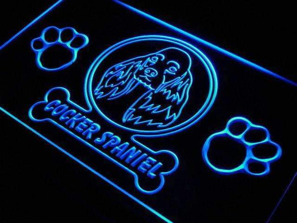 Cocker Spaniel Dog Neon Sign (LED)-Way Up Gifts