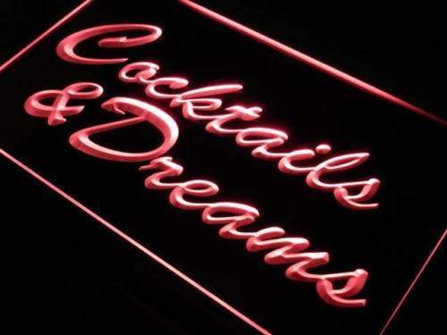 Cocktails and Dreams III LED Neon Light Sign - Way Up Gifts
