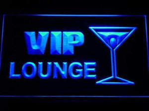 Cocktails VIP Lounge Neon Sign (LED)-Way Up Gifts