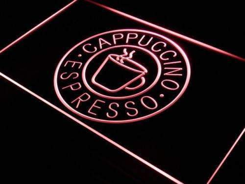 Coffee Cappuccino Espresso Neon Sign (LED)-Way Up Gifts